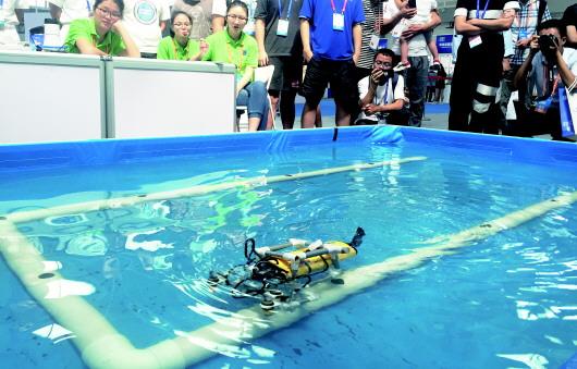 2018海洋科技展览会开幕 高科技成果纷纷亮相