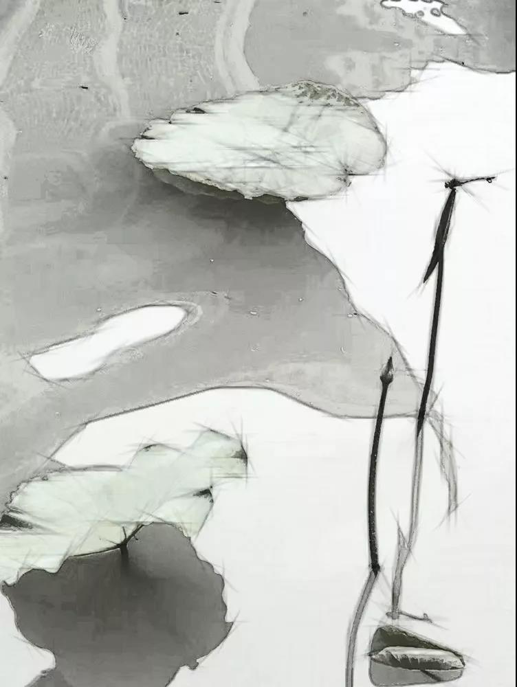水墨彩色云素材