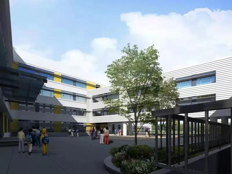 @李沧家长!虎山路第二小学将开工,明年5月启用