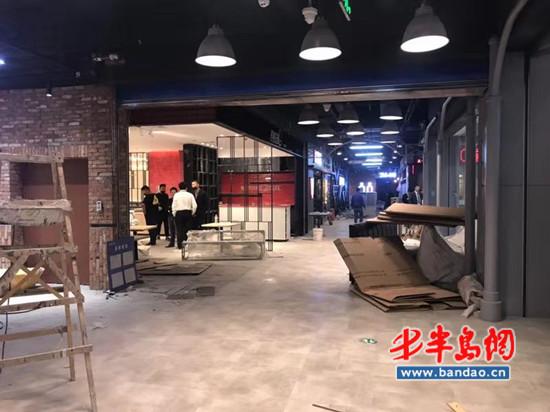 """延吉路万达美食广场开业在即甲醛""""飙高"""" 万达:正通风"""
