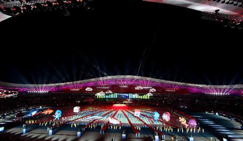 山东省第24届运动会在青岛开幕