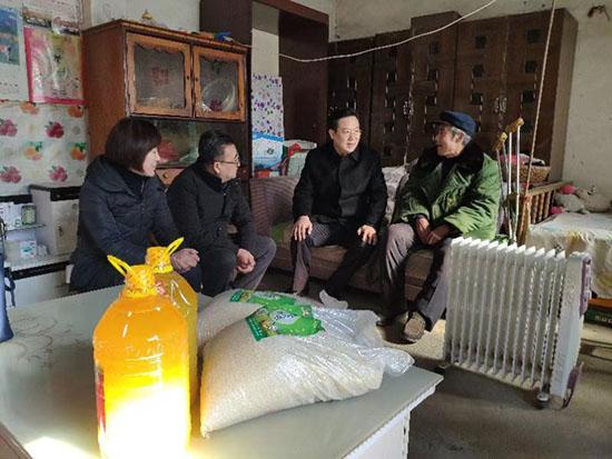 省国资委张斌同志到巨野县开展脱贫攻坚调研活