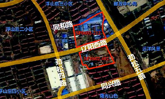 浮山新区辽阳西路地块调整规划 增加住宅比例