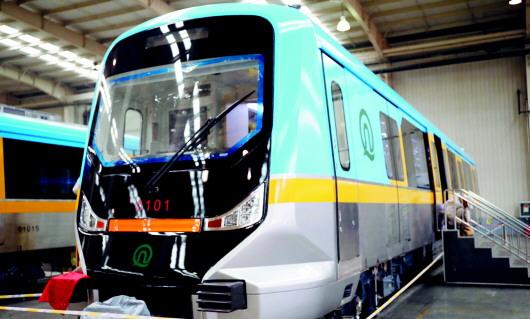 青岛地铁1号线将采用b1型电客车.