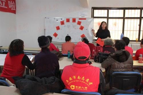 学英语闹元宵 传统节日融入了社区英语课堂