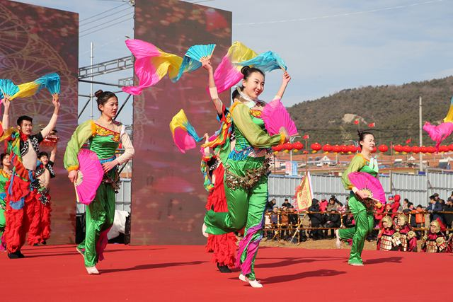 中国年・琅琊情,穿越时空祈丰年 琅琊祭海非遗文化盛宴上演