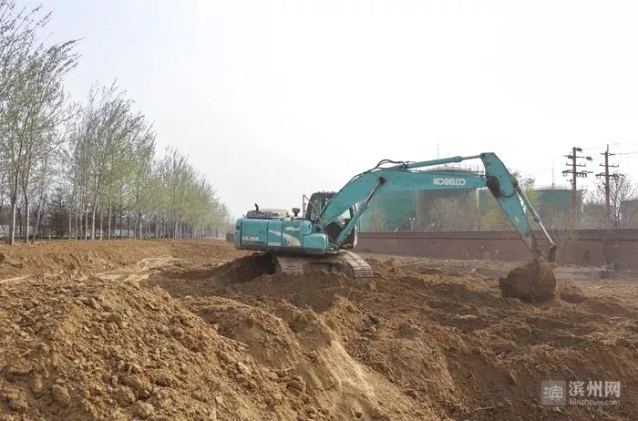 滨州将再现一处景观地,9月底完工!