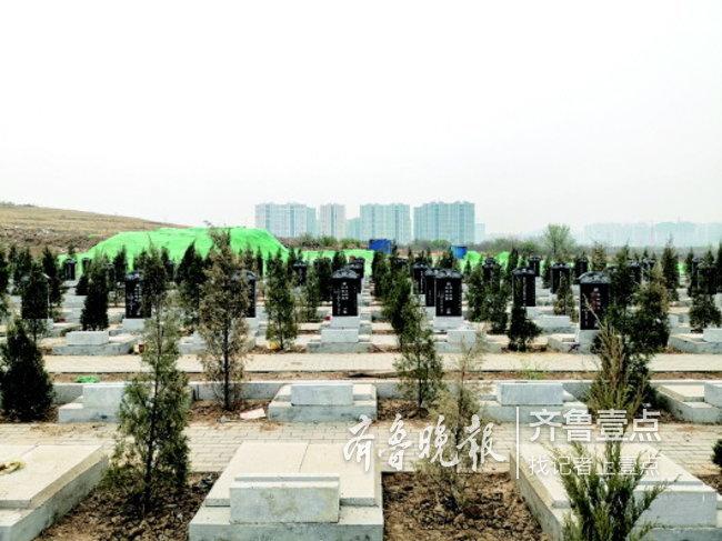 济南市民中新国际城买房 宣传的山体公园却咋成了公墓