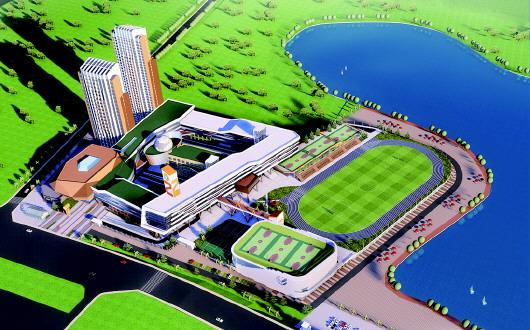 青岛二中西海岸分校2021年启用 设置小学初中高中部