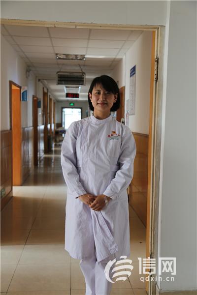 青岛六医消化内科副护士长褚丽娜:所有遗憾都被患者的肯定所替代