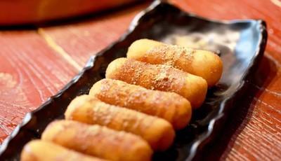 炊二哥火锅:四川红糖糍粑