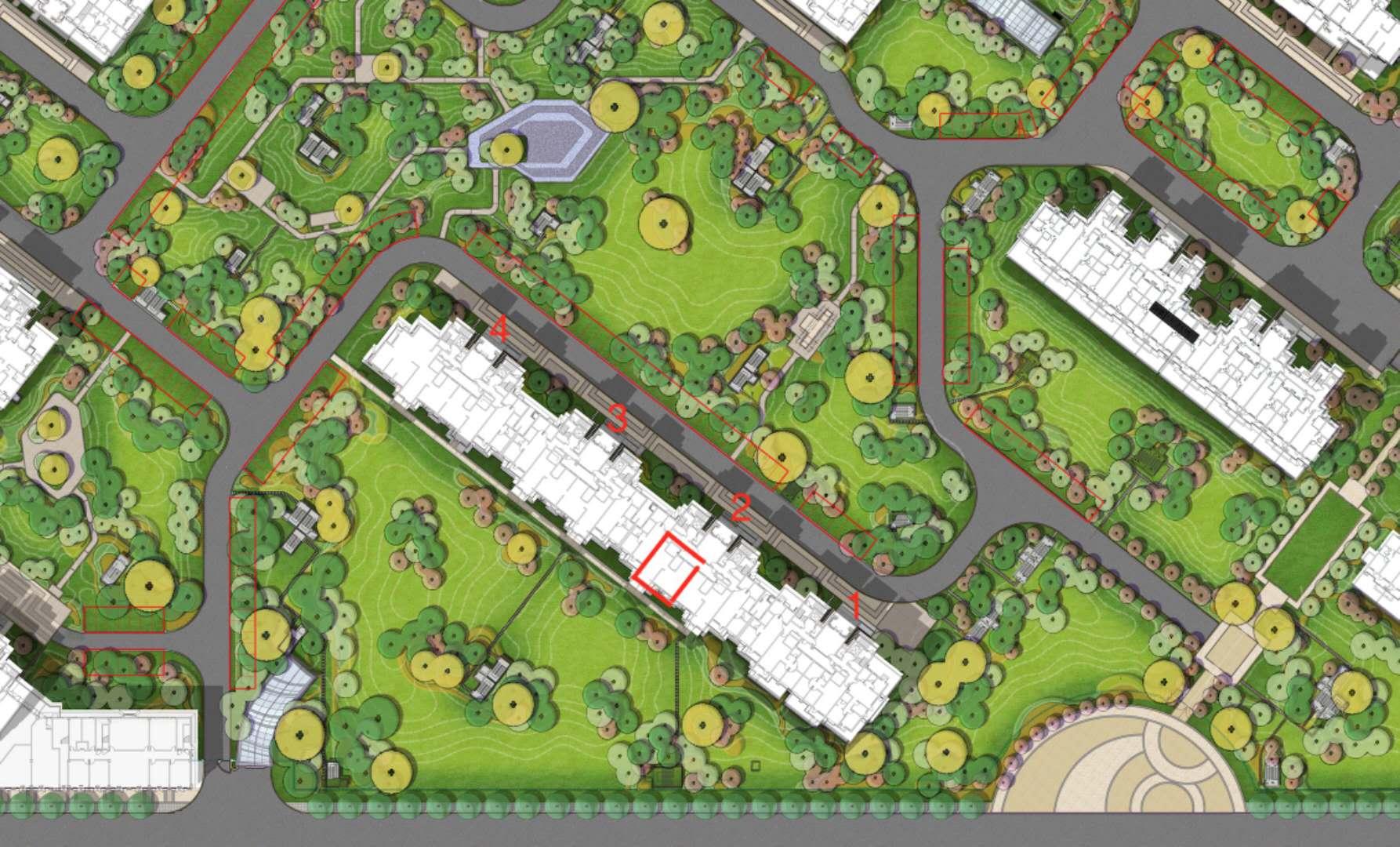 融创维多利亚湾被指虚假宣传,说好的绿地变停车位,融创:是前任万达干的