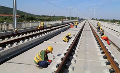 鲁南高铁日照段完成投资29.35亿元 6月份静态验收年底前投入运营