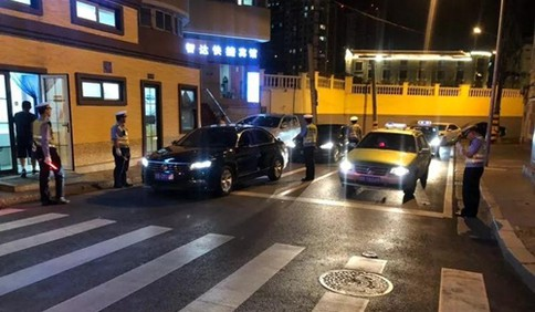 拒绝酒驾 平安出行,端午节期间市南交警查获15名酒司机