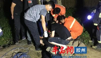 胶州李哥庄六旬老人掉落机井溺水身亡
