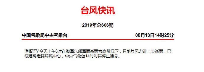 """温州房网_再见!台风""""利奇马""""被完结编号,接下来气温将逐渐回升"""