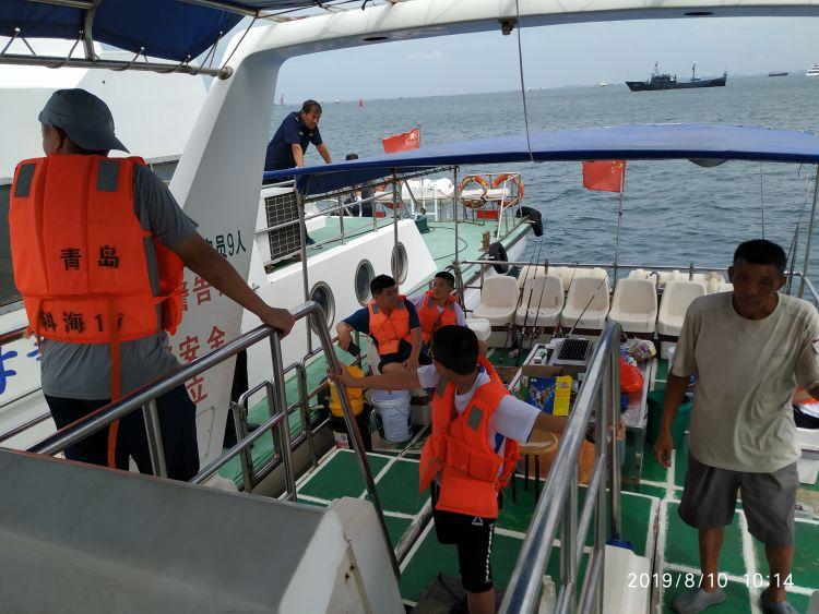 青岛海事部门连续查处3起涉客船舶违法行为