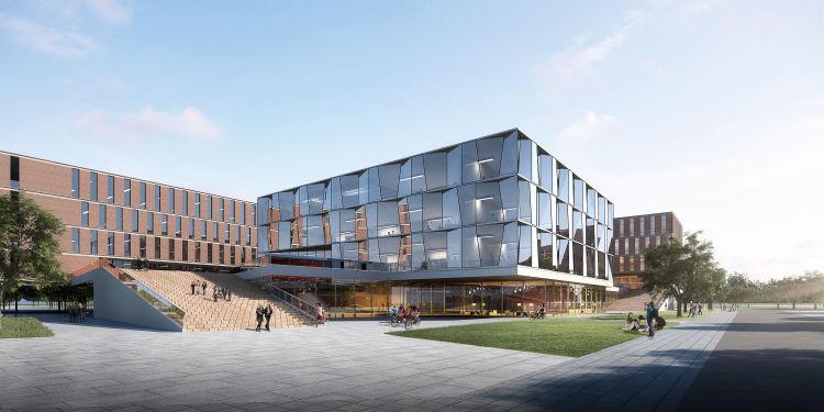 北京航空航天大学(青岛)国际学术交流中心开工 预计2021年建成