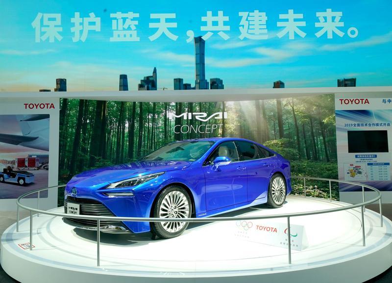 丰田氢能源汽车