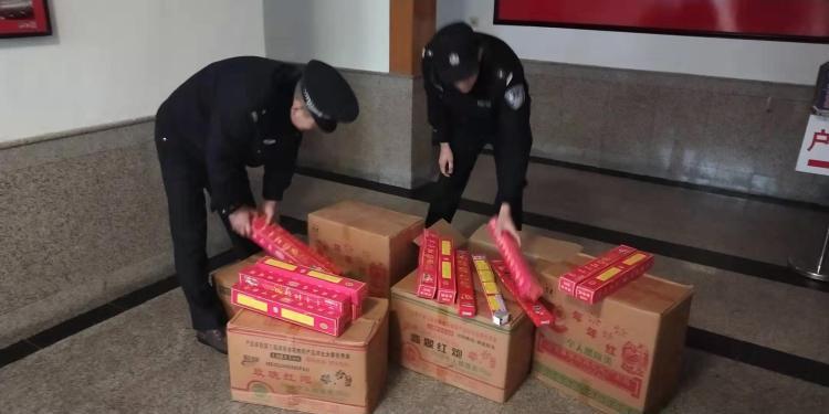 非法售卖烟花爆竹 平度警方摸排将其抓获