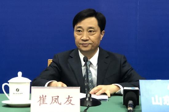 山东省生态环境保护厅党组成员、副厅长  崔凤友