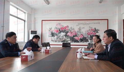 青岛市黄岛区税务局开展走访人大代表和政协委员活动