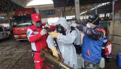 """全民战""""疫""""!青岛红十字搜救队志愿者们在行动"""