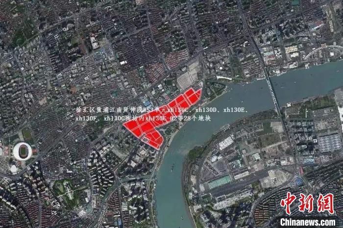"""香港置地310.5亿拿下上海徐汇滨江地块刷新纪录成中国内地""""新地王"""""""