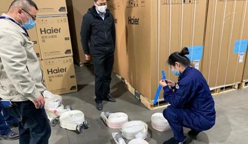 青岛高新区消防大队严查消防产品使用领域违法行为 增强企业检查辨别消防产品能力