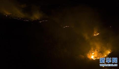 四川西昌市泸山森林火灾已造成19人遇难 其中一名为当地向导