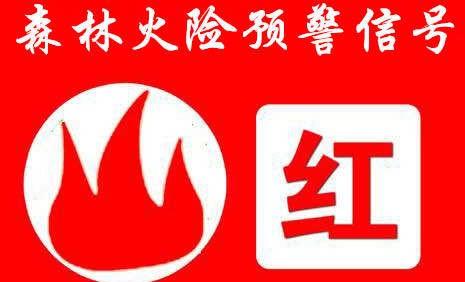 青岛市森林防灭火指挥部发布森林火险红色预警