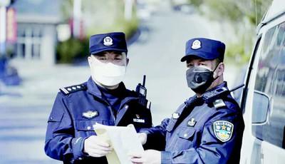 """抗疫闪耀""""警察蓝"""" 青岛3万多名民警、辅警全力投入防控疫情"""