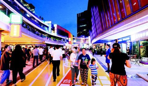 """夜经济点亮时尚IP 高质量展会让青岛屡次站上全球""""C位"""""""