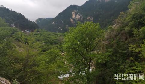 强降雨天气后 北九水景区现飞瀑景观
