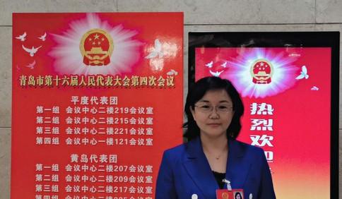青岛市人大代表王艳艳:建设以社会信用体系为核心的社会治理机制