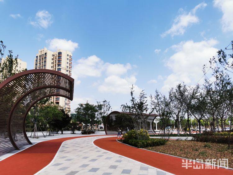 青岛市北区又一口袋公园建成今年打造计划3处首饰设计方案图片