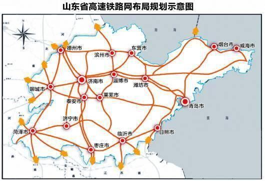 来源:《山东省综合交通网中长期发展规划(2018-2035年)》