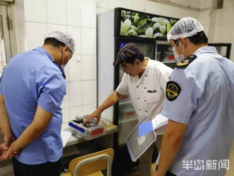 市场监管执法人员今天进驻考点 为2020高考开启食品安全最强保障