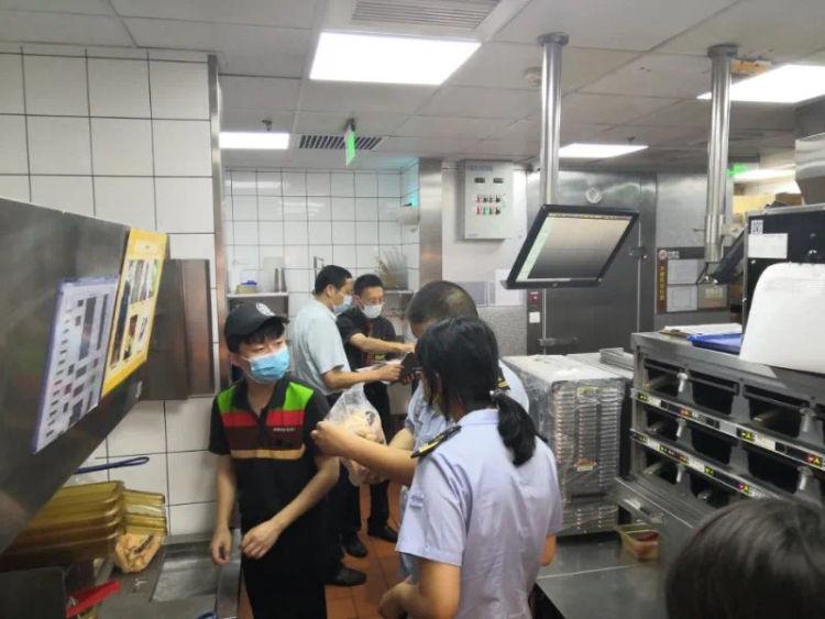 """市南区""""汉堡王""""无食品废弃处郑州淘宝产品拍摄理图片或录像记录 市场监管部门:整改!"""