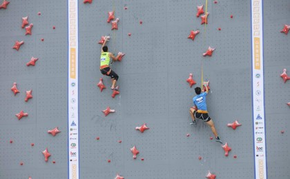 2020中国攀岩速度系列赛首站在莱西打响