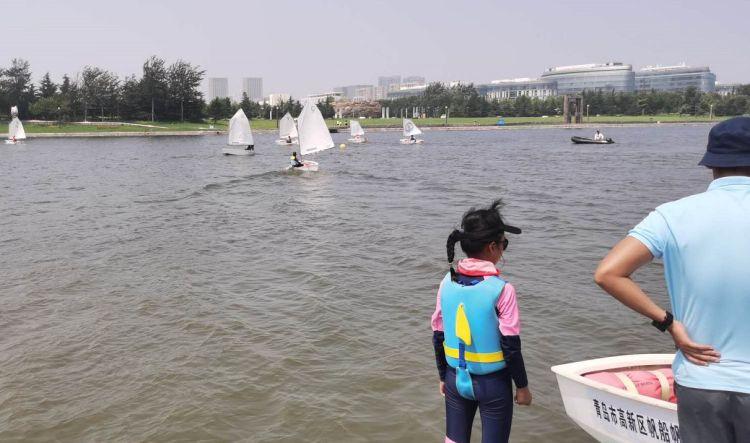 推动青岛时尚城建设帆船夏令营扬帆起航-半岛网
