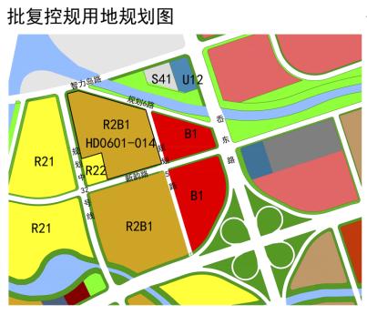 控规|高新区一地块控规调整 涉及面积7.64公顷由商住调整为居住
