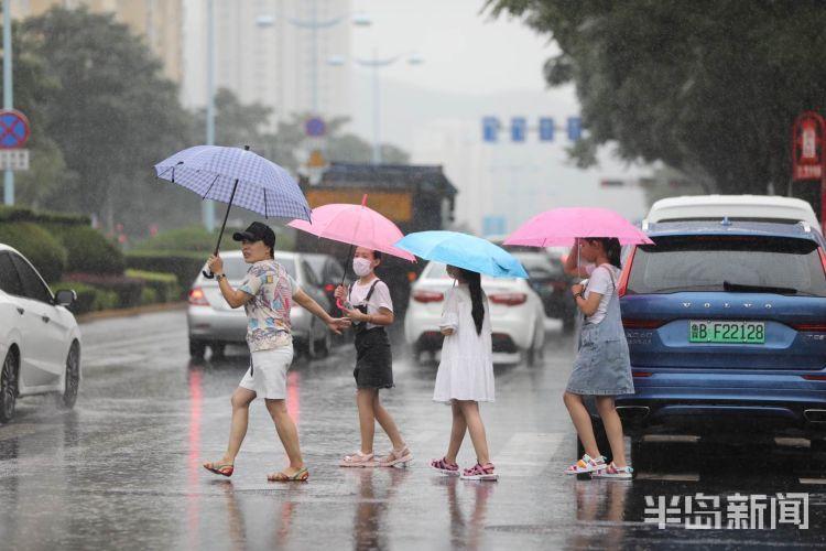 再迎 台风走了雨又来了 青岛明起三天再迎连阴雨