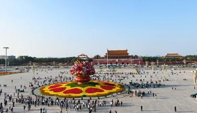 """天安门花坛总设计师:每年国庆就是我的""""高考"""""""