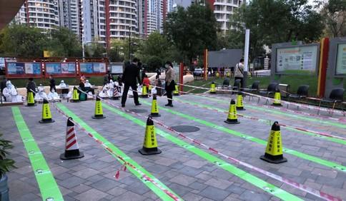 """暖心!市北区双山街道开辟核酸检测""""绿色通道"""" 省时又省力"""
