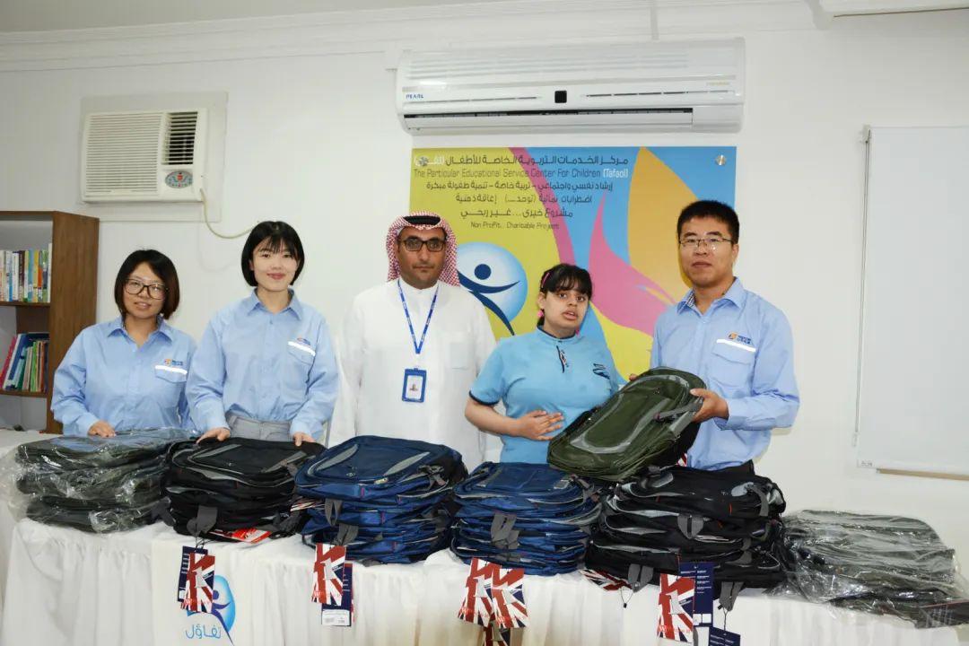 走出国门爱心传递 山东电建三公司工会持续开展海外志愿服务