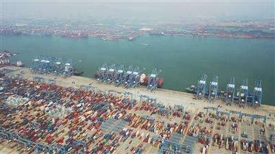 山东港口青岛港将对外开放启用两个新建泊位 均为20万吨级集装箱泊位