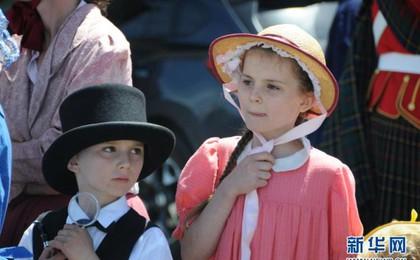 新西兰举行维多利亚复古节 为期5天