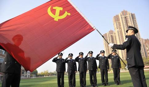 开发区分局红石崖派出所:红心熠熠铸枫警 党建领航护发展