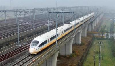 鹽通高鐵正式試運行 青島與長三角高鐵通道已打通
